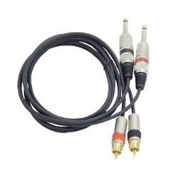 Câble module double RCA / JACK 6.35