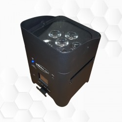 Box LEDs Batterie 6x15W HF + Wi-Fi