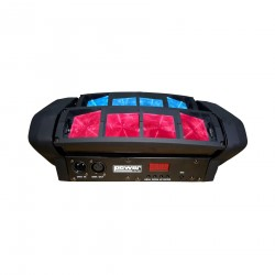 Power Lighting Spider Pocket Quad led 8x12W RGBW