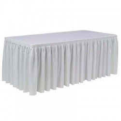 Table buffet + nappage 2 m x 0.9 m